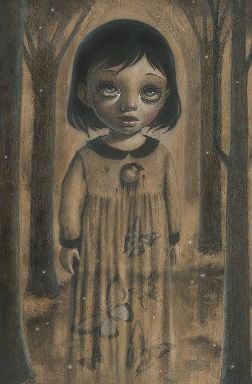 Ghost of Firefly Forest by Ana Bagayan