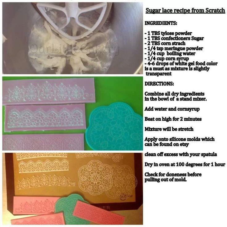Sugar lace recipe from scratch