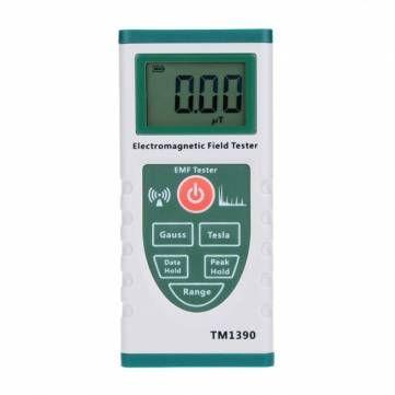 Digital Gauss Field Radiation Dosimeter Professional Electromagnetic Radiation Detector Tester Meter