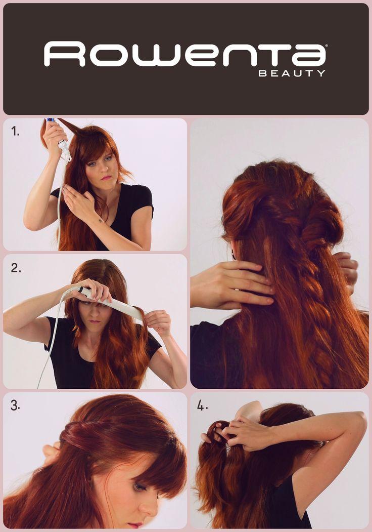 Warkocz w stylu casual  Krok 1. Unieś włosy od nasady przy pomocy VOLUM'24 Krok 2. Zrób luźne fale, używając prostownicy RESPECTISSIM 7/7 Krok 3. Zakręć po jednym ślimaku z każdej ze strony i połącz je Krok 4. Z połączonych ślimaków zapleć warkocz #Respectissim #Rowenta #RowentaPolska #fryzura #włosy #hair #hairstyle #hotd #fryzjer #wlosomania #wlosomaniaczka #wlosomaniaczki #hairmania #hairgoals #haircolor #curls #waves #straightner #volum #wavy #straight #easy #tutorial #stepbystep #braid