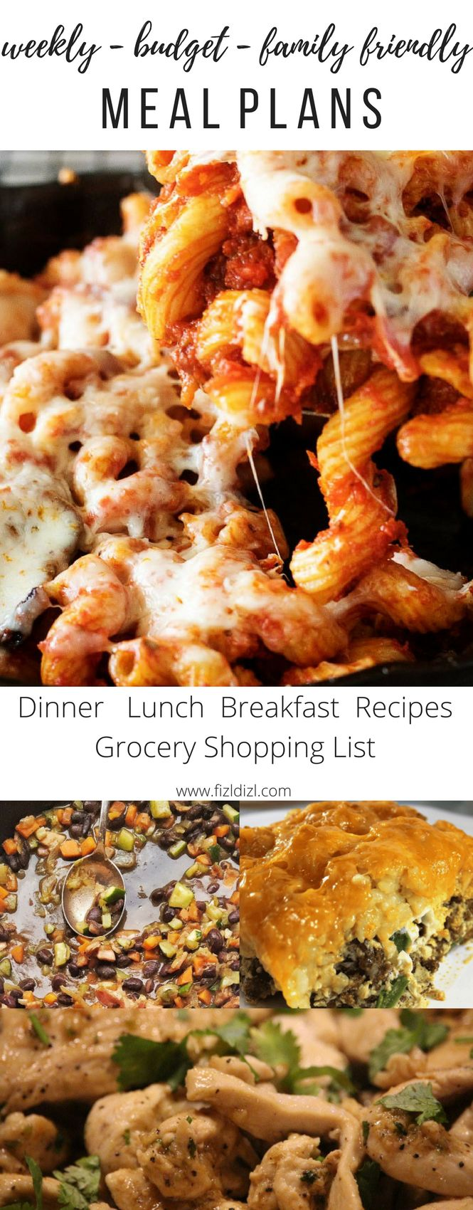 Simply, family, budget friendly weekly meal plans you and your family will love. Each contains five dinners and one breakfast as well as lots of lunch ideas for the youngest to oldest in your home. We do all the work for you - did we mention we include an editable grocery list with all of the ingredients on it already for all the meals? Happy dinner time, happy family time!