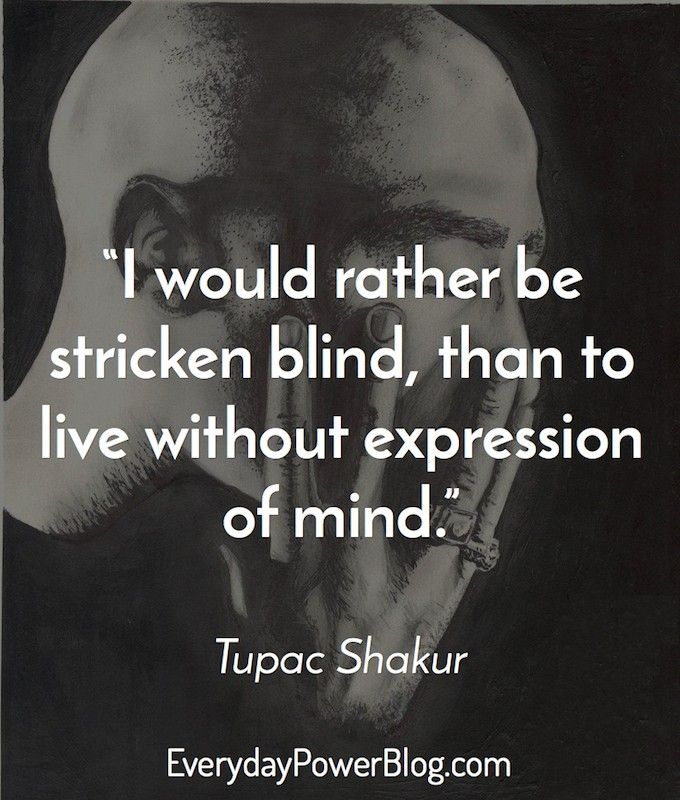Inspirational Quotes On Pinterest: 50 Inspirational Tupac Quotes On Thug Life, Success And
