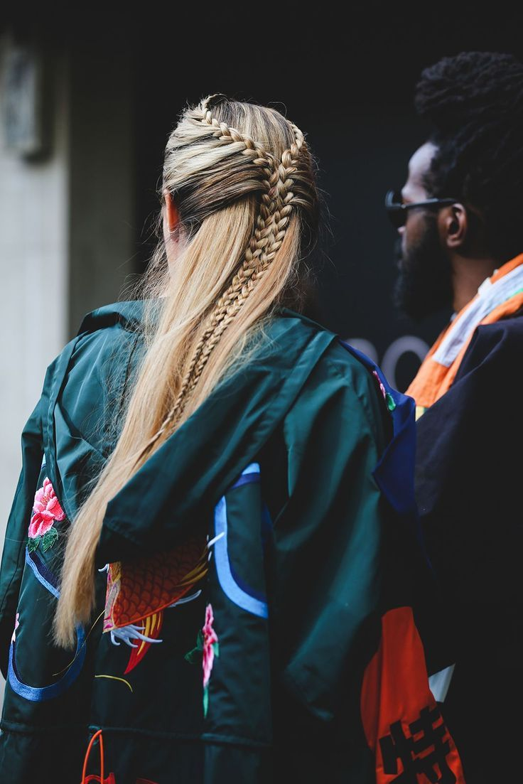 Hairstyles To Steal From LFW's Street Style Stars | Pinterest: Natalia Escaño