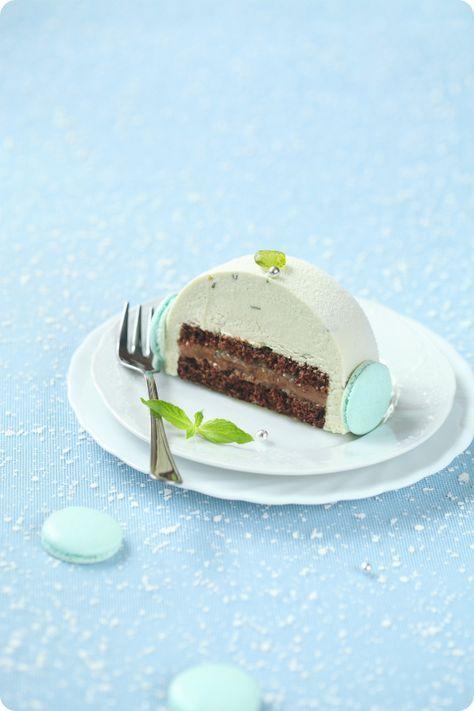 Verdade de sabor: Шоколадно-мятный торт с лаймом / Torta mousse de chocolate e hortelã com lima