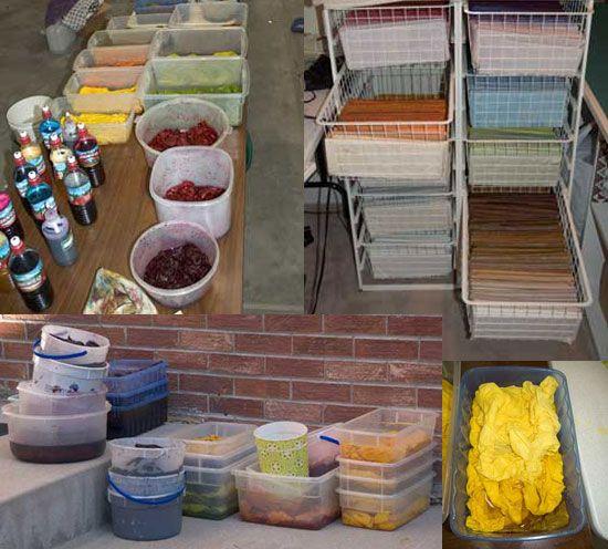 Best 53 Fabric Dyeing Ideas On Pinterest