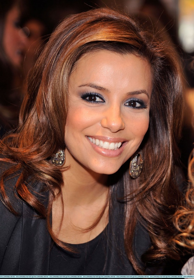 Eva Longoria Love The Hair Color Eva Longoria