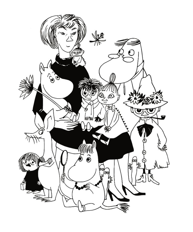 Learn about the bohemian upbringing of Tove Jansson, creator of the Moomins!