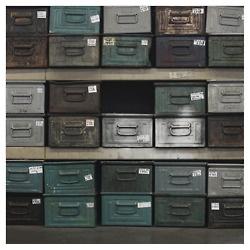 industrial metal storage boxes