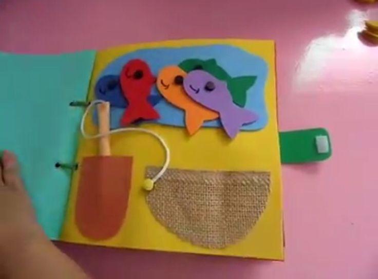 Libro Sensorial De Goma Eva S      Facebook Com