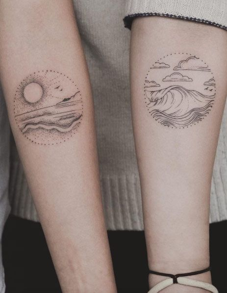 Circular Dotwork Designs by Triton Ly