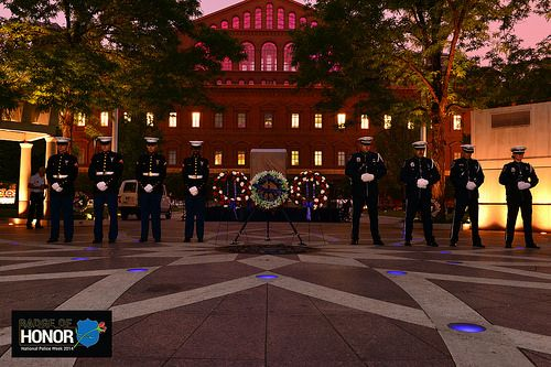 peace officers memorial day and police week 2015