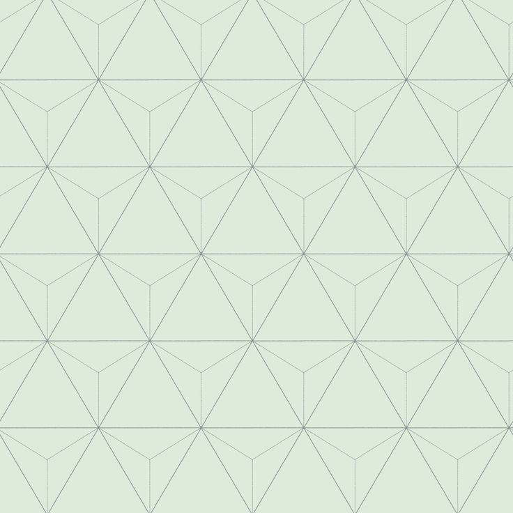 love this wallpaper! design by Eijffinger® vliesbehang driehoek mintgroen