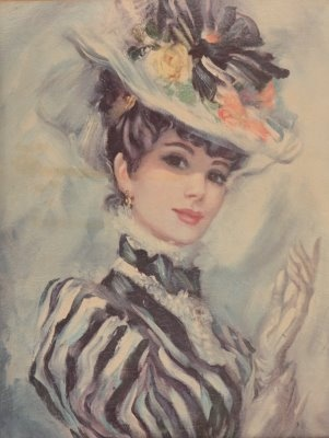 Kim's Art By The Sea: Victorian Ladies