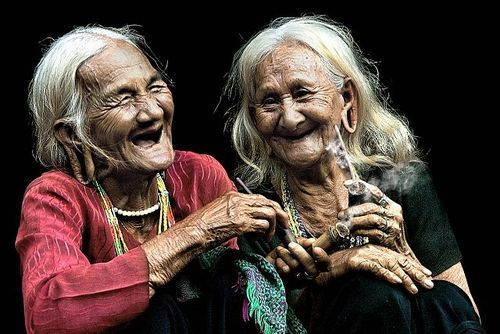 Growing old, together...