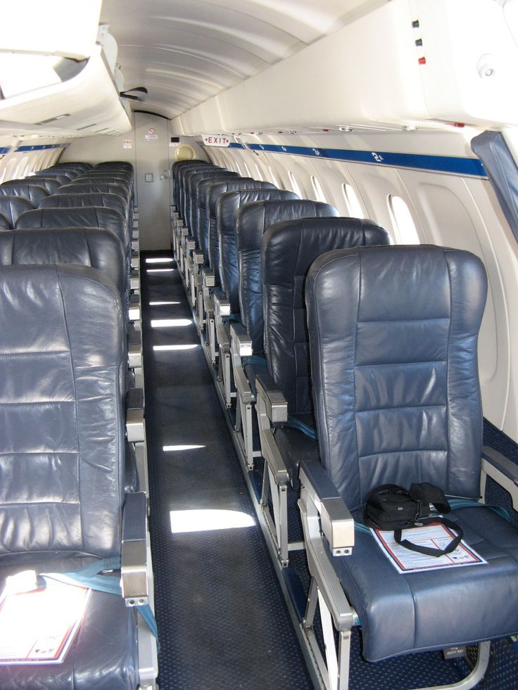 Inside the Regional Express, commonly known as Rex - Saab 340. I took this when I was on a turnaround.