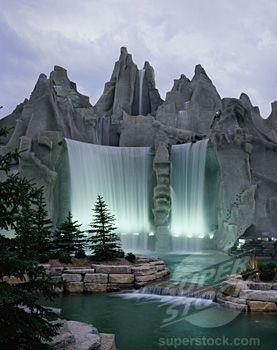 La Montaña de Maravilla, Toronto Canadá - encanta al parque de diversiones en Canadá  el país de las maravillas
