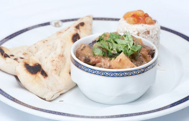 The Grilled Vegetable Masala is a vegetarian favorite onboard Holland America's ships.