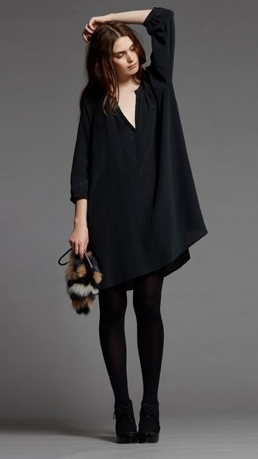 I love black and I love over sized tops! Perfect for everyday lazy wear