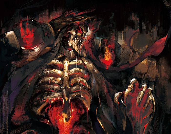 Ainz Ooal Goan Momonga Overlord Wallpaper Anime Smile Anime Movies Anime