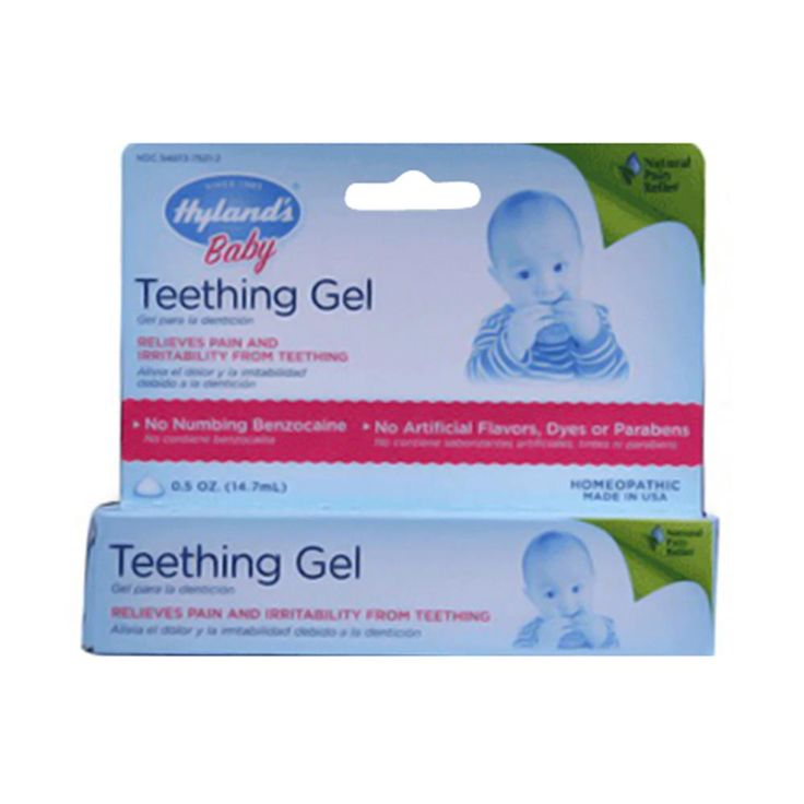 Buy Hylands Baby Teething Gel - 0.5 oz | Supports to reduce pain and irritability from teething. myotcstore.com - Ezy Shopping, Low Prices & Fast Shipping.