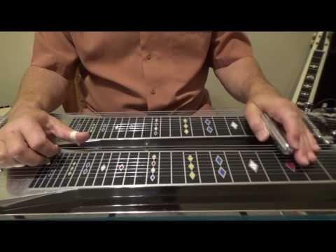 PEDAL STEEL BASICS - Volume #1 [HD] - Beginner Pedal Steel Lessons By Troy Brenningmeyer - YouTube