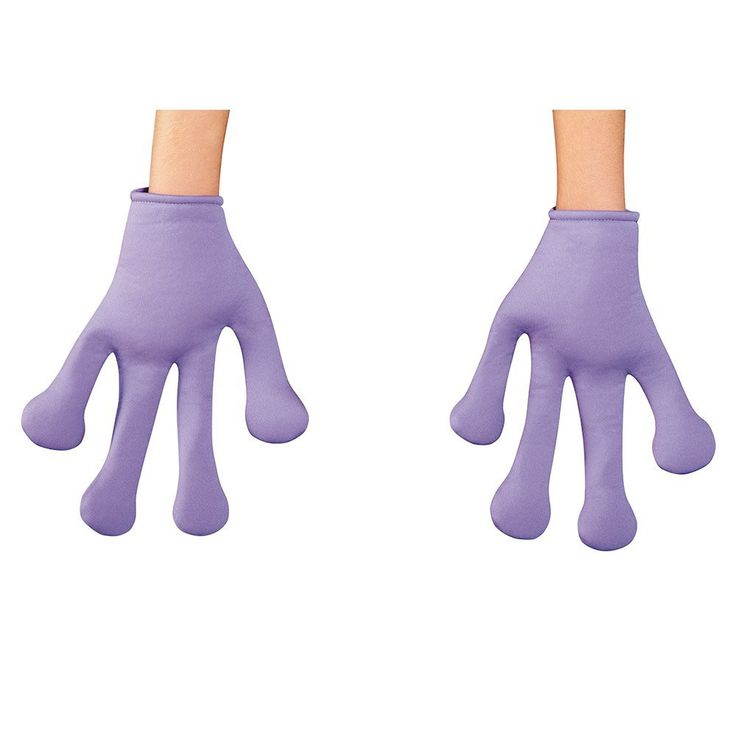 Dreamworks Home Oh Child Costume Gloves One Size