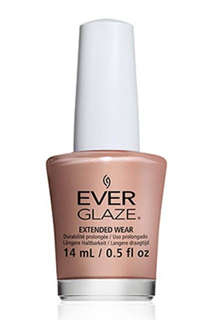 China Glaze's new Ever Glaze formula is somewhere between a polish and a gel — it goes on like a traditional lacquer, but wears for much longer. We suggest giving it a go in Beach Beige. China Glaze Ever Glaze Extended Wear Polish in Beach Beige, $4.45, available at Spring Nail Supply.  #refinery29 http://www.refinery29.com/nail-polish-trends-2016#slide-5