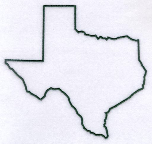 Texas outline