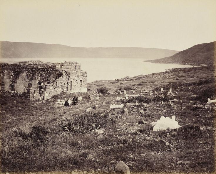20 aprile 1862. Il Mare di Galilea, Tiberiade