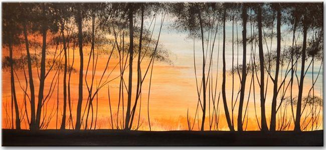 Schilderij At the Edge of the Woods. Nu bij Kunstvoorjou.nl.