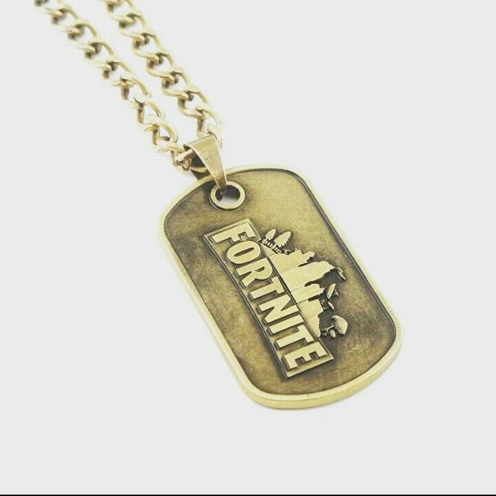 Fortnite Dogtag Unique Jewelry Dog Tag Necklace Tag Necklace