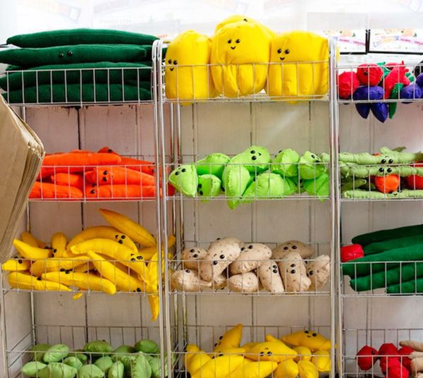 Lucy Sparrow spent eight months meticulously hand stitching over 4,000 felt replicas of everyday grocery items, to eventually fill a former derelict shop in London's Bethnal Green.