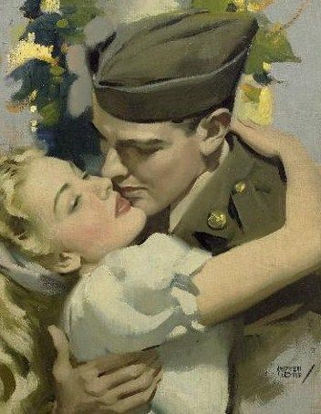519 best vintage romance images on pinterest romanticism william andrew loomis american 1892 1959 vintage romancevintage artromance sciox Gallery