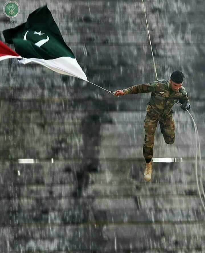 Courage Is Fear Holding On A Minute Longer Tiger Ah Pakistan Army Pak Army Soldiers Pakistan Defence