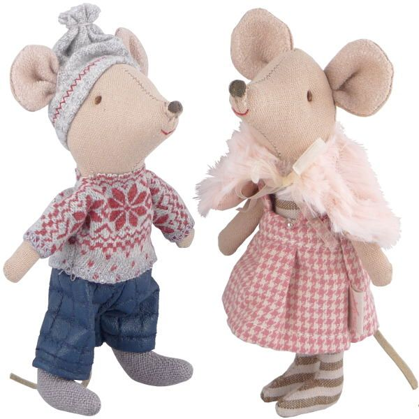 Maileg Big Brother, Sister Winter Mouse, 2014 My girls each have one of these and ADORE them!