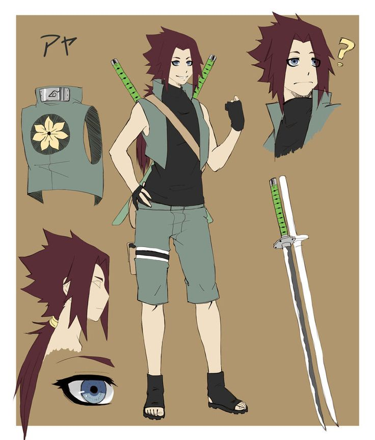 160 Best Images About Naruto OC On Pinterest