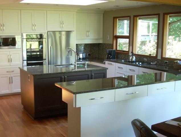 resurfacing cabinets; also - backsplash