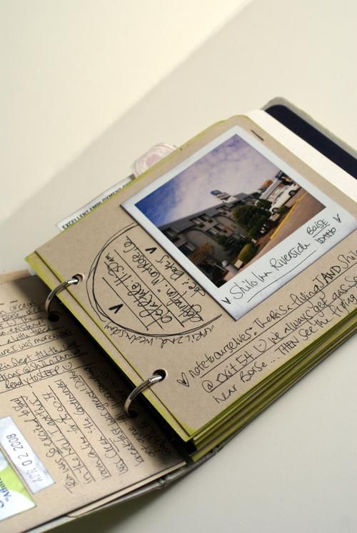 Roadtrip Journal DIY simple yet it can be so personal filled with memories, must do!