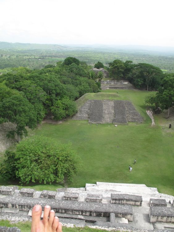 Xunantunich Maya Ruins in Cayo - $10US - free ferry across river