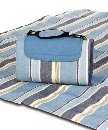 Love This Blue Chambray Waterproof Mega Mat Picnic Blanket On Zulily Zulilyfinds