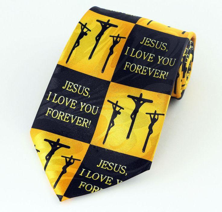 42 best christian religious easter images on pinterest easter jesus love forever mens necktie christian religious cross easter gift tie new stevenharris necktie negle Gallery