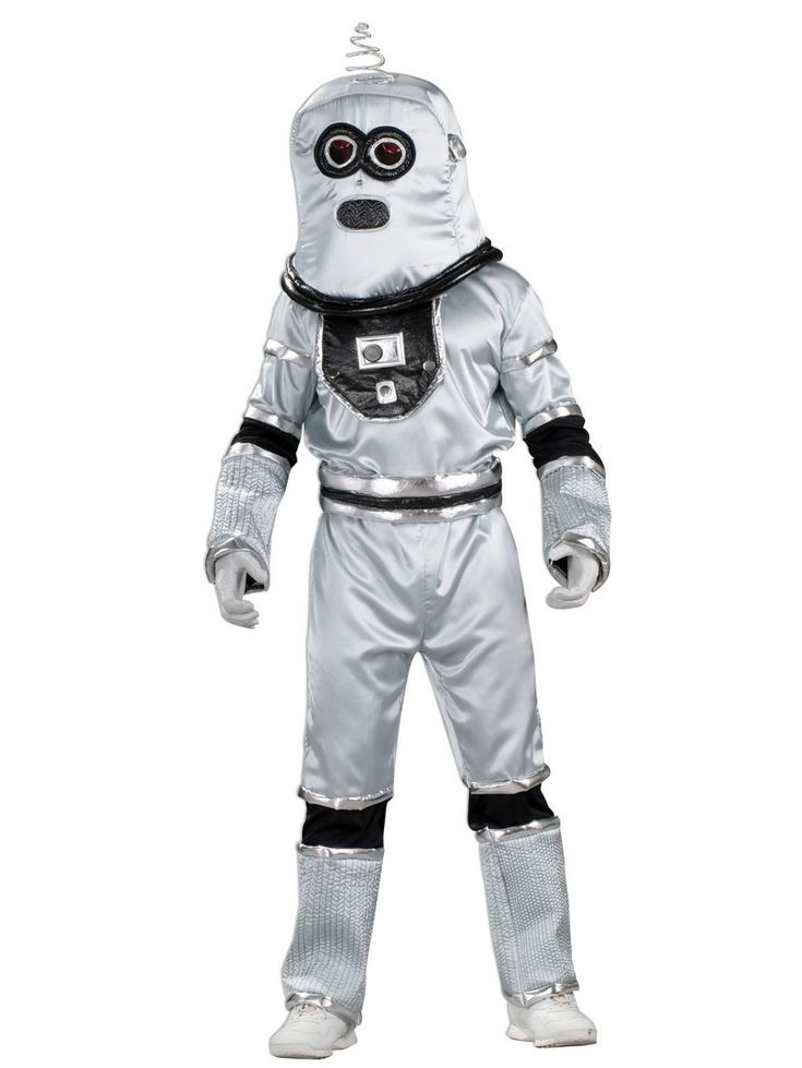 Teen Boy Robot Costume