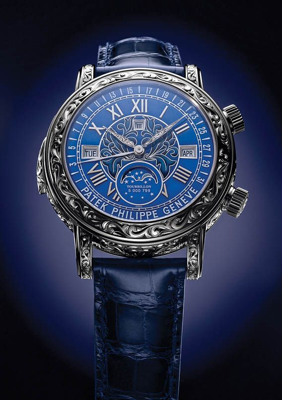 The Watch Quote: The Patek Philippe Sky Moon Tourbillon Ref. 6002 watch - The grand creation of a grand complication