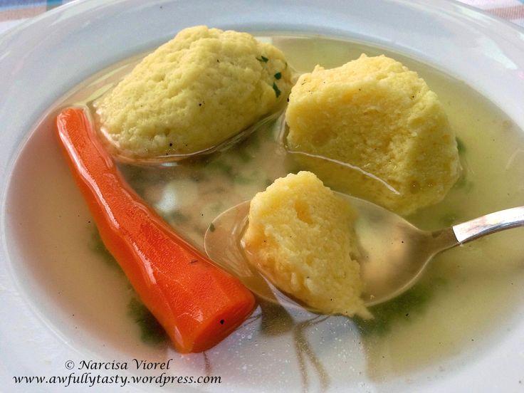 Supă de curcan cu găluște