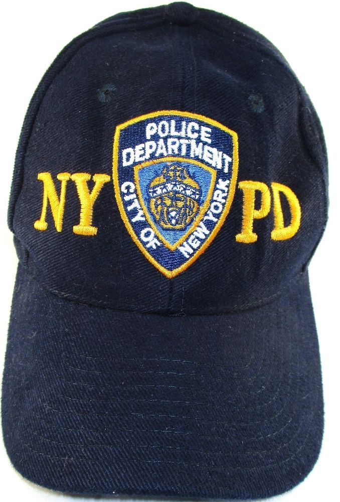 cf68f80c4b3 NYPD Men Cap One Size Fits Blue 100% Cotton Six Panels  NYPD  6Panel ...