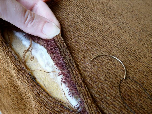 How To: Mend Torn Upholstery