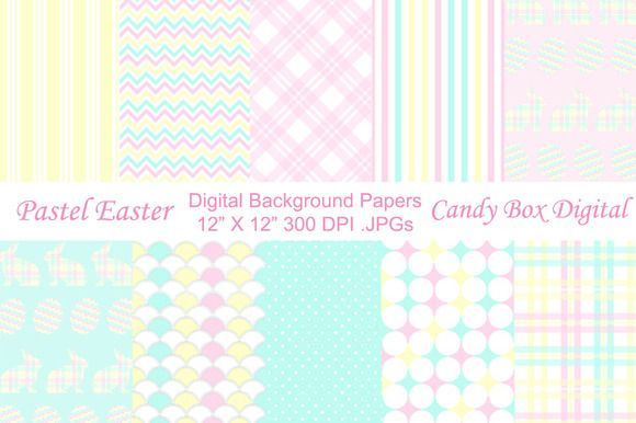 Candy Box Digital just released Pastel Easter Digital Background Papers on Creative Market. Great for digital scrapbooks and journals or website and blog backgrounds, or print them out for scrapbooks, cards invitations, announcements and other paper crafts.