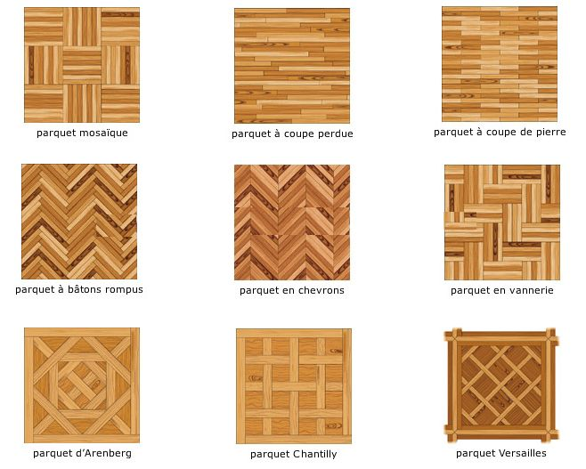 Parquet patterns. We LOVE parquet floors.  Bring the decor of the gilded age into your space!