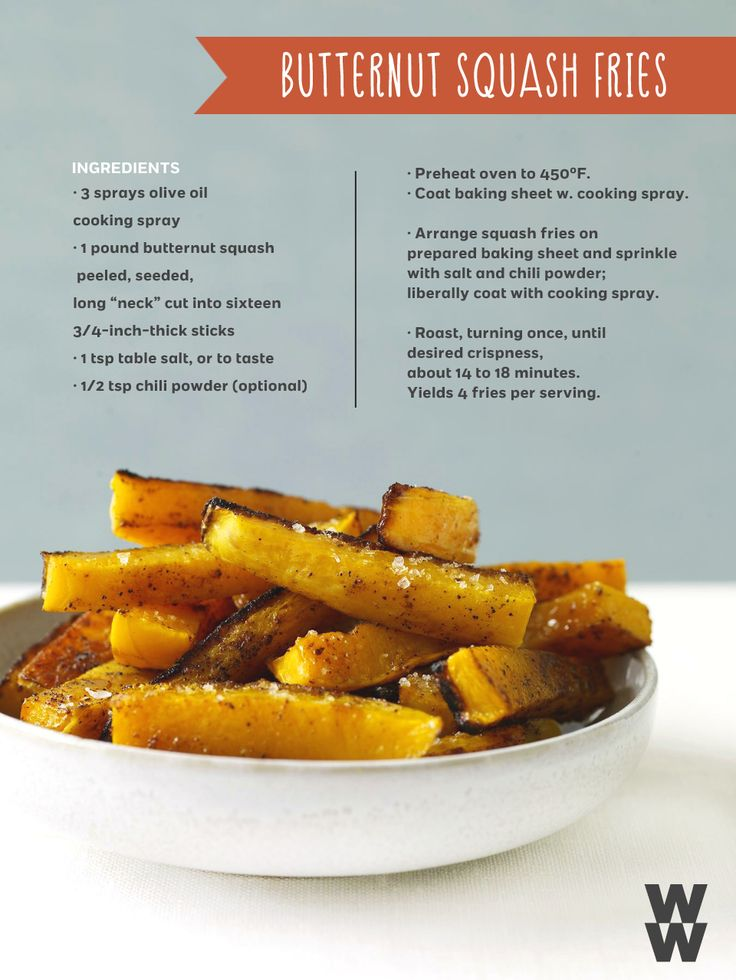 great alternative to deep-fried potatoes. These butternut squash fries ...