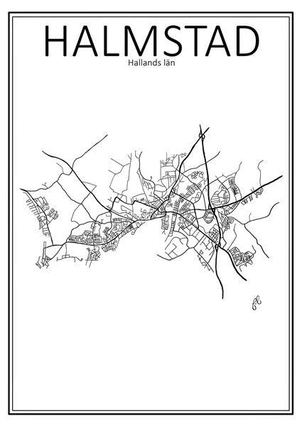 http://room99.se/tavlor/poster-stadskarta-halmstad-50x70-cm/